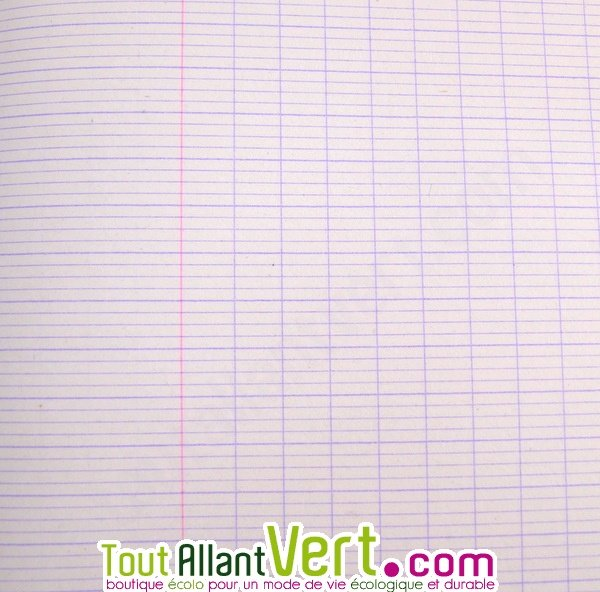 cahier grands carreaux recycle forever de clairefontaine With cahier grand carreaux