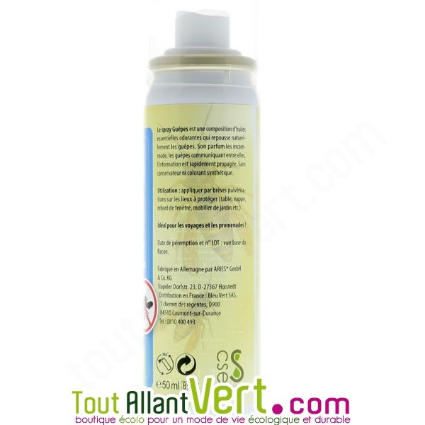 spray anti gu pes r pulsif naturel 50ml achat vente cologique acheter sur. Black Bedroom Furniture Sets. Home Design Ideas