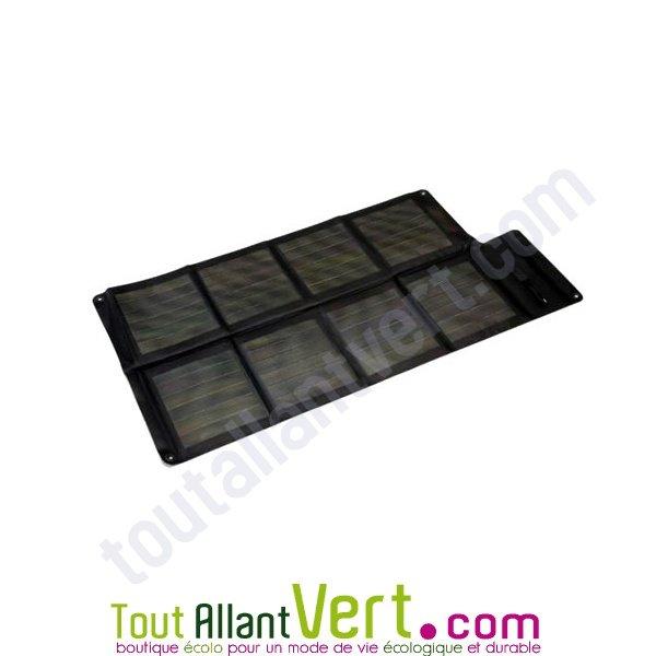 panneau solaire 25w batterie universelle portable. Black Bedroom Furniture Sets. Home Design Ideas