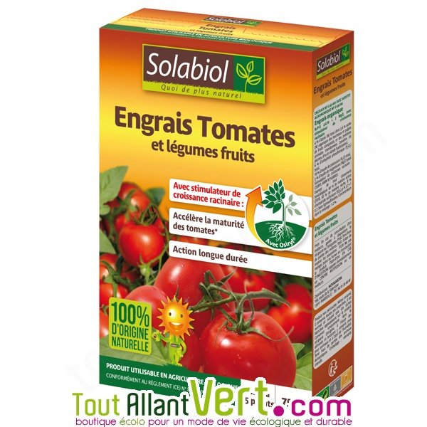 engrais tomates et l gumes fruits 750g solabiol achat vente cologique acheter sur. Black Bedroom Furniture Sets. Home Design Ideas