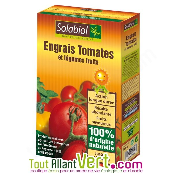 Engrais organique tomates 750g solabiol achat vente cologique acheter sur - Engrais pour tomates ...
