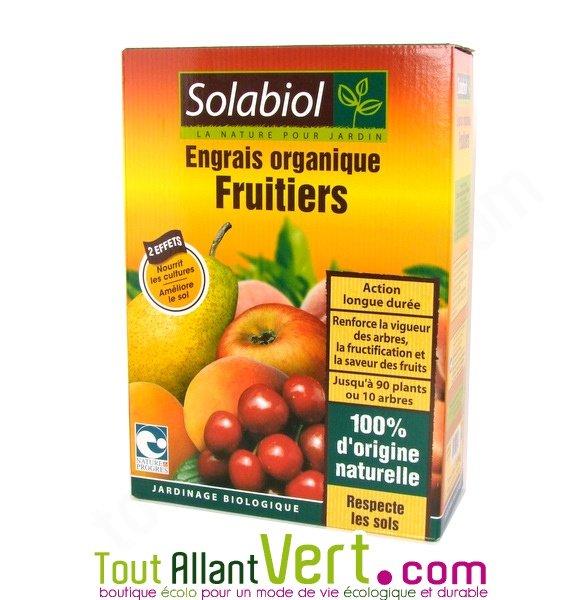 solabiol engrais fruitiers organique 1 5kg. Black Bedroom Furniture Sets. Home Design Ideas