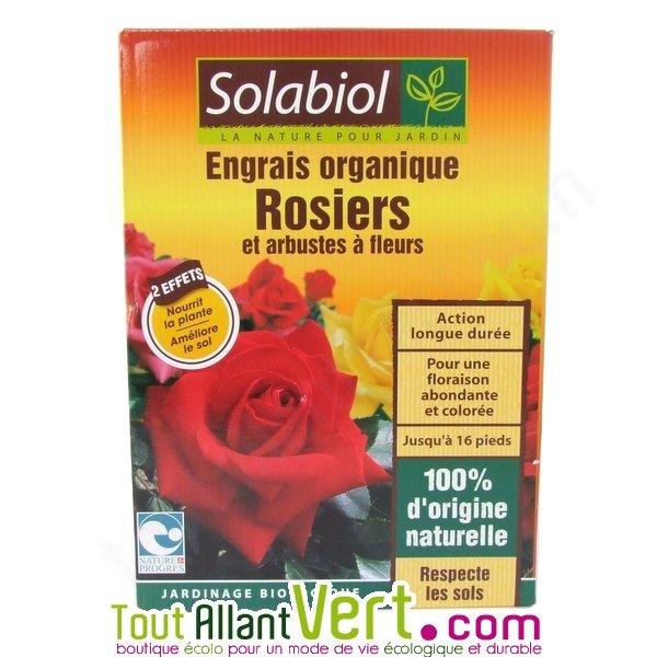 engrais organique rosiers 1 5kg solabiol achat vente cologique acheter sur. Black Bedroom Furniture Sets. Home Design Ideas