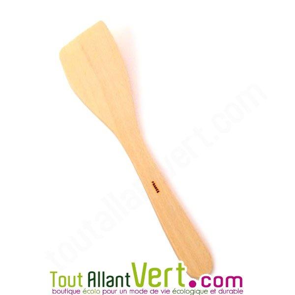 Spatule en bois de h tre non trait 30cm pour la cuisine - Spatule en bois ...