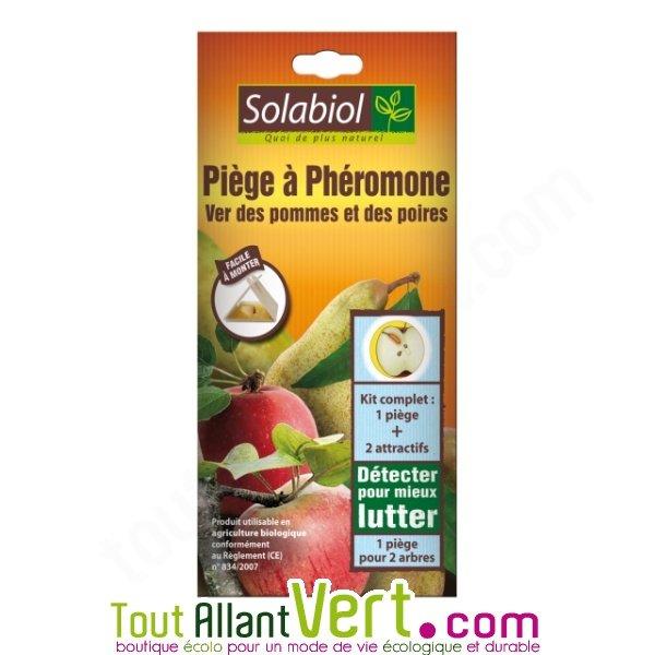 piège à phéromone ver des pommes et poires, solabiol achat vente