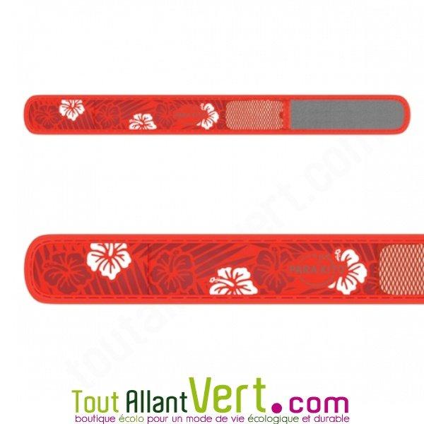 bracelet anti moustiques aux huiles essentielles parakito fleurs et rouge achat vente cologique. Black Bedroom Furniture Sets. Home Design Ideas