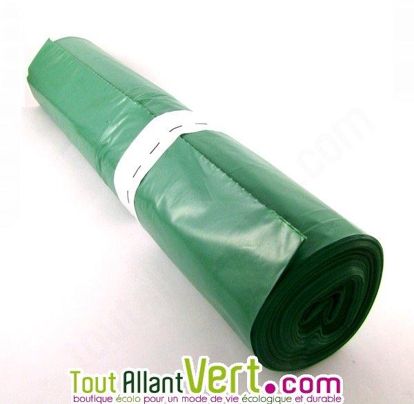 sac poubelle plastique recycl 100 litres lot de 25 achat vente cologique acheter sur. Black Bedroom Furniture Sets. Home Design Ideas