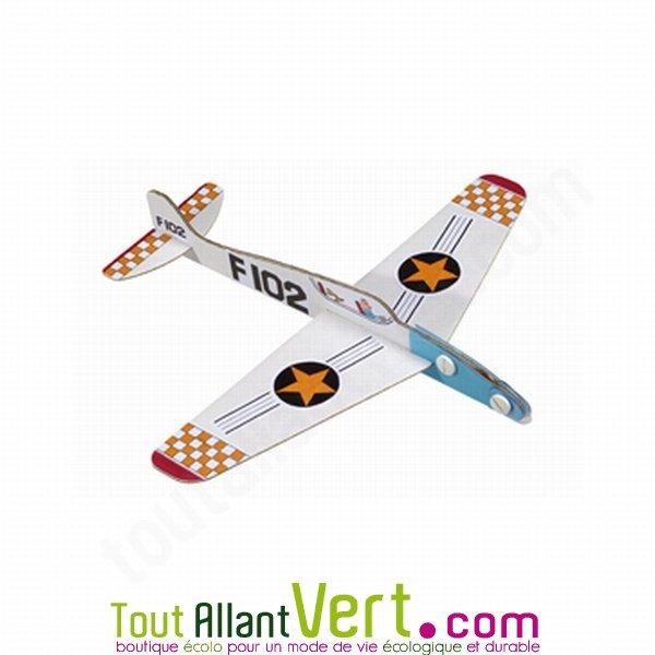 Exceptionnel Mes Z avions, 3 avions carton recyclé à construire et décorer  YF25