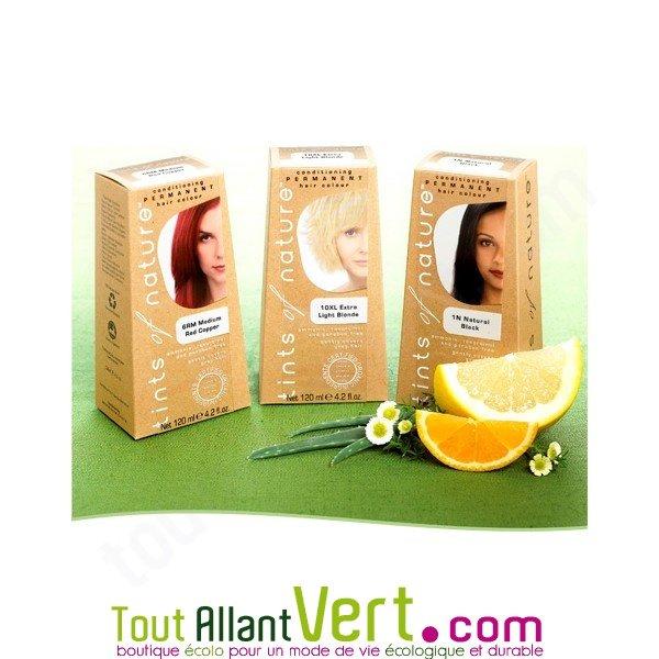 teinture permanente coloration bio pour cheveux sans ammoniaque tints of nature - Nature Et Soin Coloration Permanente