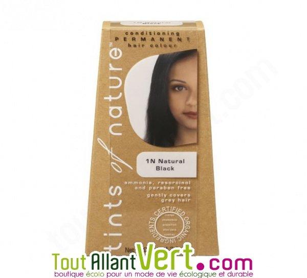 Teinture permanente coloration bio pour cheveux 1n noir naturel achat vente - Teinture textile bio ...