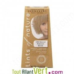 teinture permanente coloration bio pour cheveux 10n blond platine naturel achat vente cologique. Black Bedroom Furniture Sets. Home Design Ideas