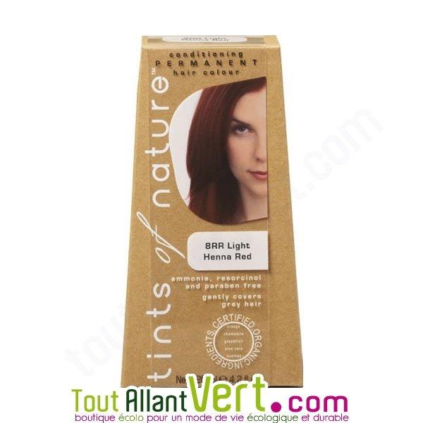 Teinture permanente coloration bio pour cheveux 8rr blond henn auburn achat - Teinture textile bio ...