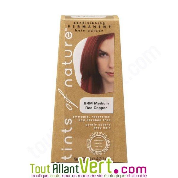 Teinture permanente coloration bio pour cheveux 6r blond fonc cuivr achat v - Teinture textile bio ...
