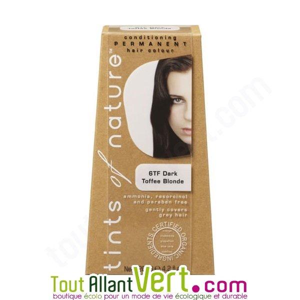 Teinture permanente coloration bio pour cheveux 6tf caramel achat vente colo - Teinture textile bio ...