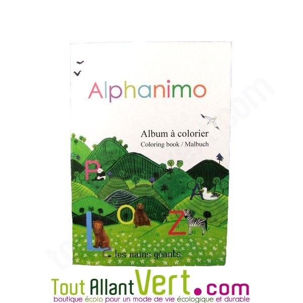 Ab c daire des animaux colorier recycl alphanimo achat - Abecedaire a colorier ...