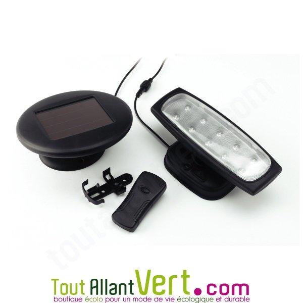 Spot solaire d int rieur avec t l commande achat vente cologique acheter sur for Eclairage telecommande interieur