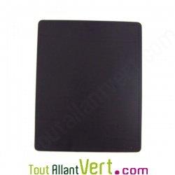 Tapis de souris en cuir recycl noir 24x19 5 cm achat - Tapis de souris personnalise belgique ...