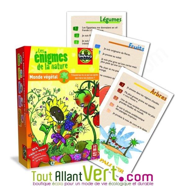 Favorit Les Enigmes de la Nature, jeu de cartes, Bioviva, 7ans+ achat  LL26