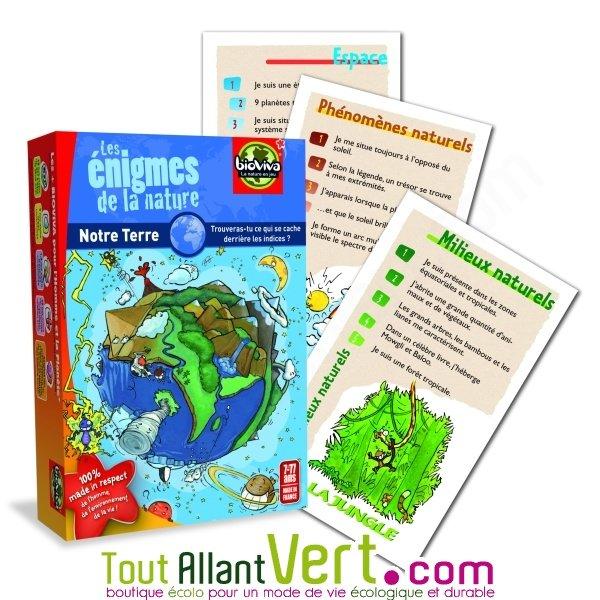 Les enigmes de la nature jeu de cartes bioviva 7ans - Jeux de crocodile sous la douche gratuit ...