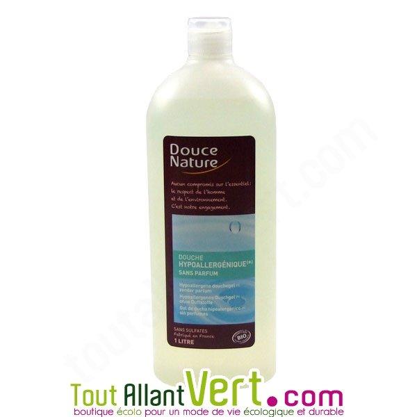 Douce nature gel douche hypoallerg nique pour toute la famille 1l - Gel douche hypoallergenique ...