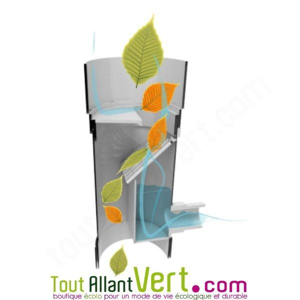 collecteur d eau de pluie pour descente de goutti re achat vente cologique acheter sur. Black Bedroom Furniture Sets. Home Design Ideas