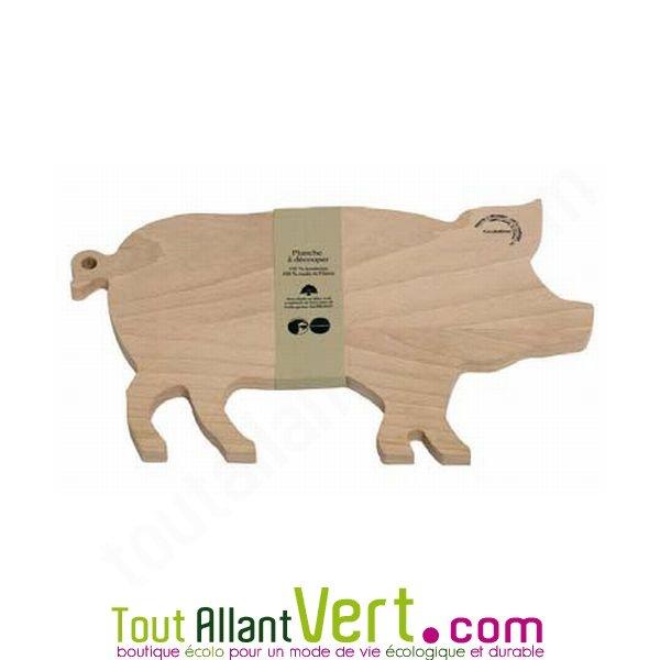 planche d couper cochon en bois achat vente cologique acheter sur. Black Bedroom Furniture Sets. Home Design Ideas