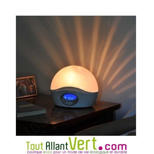 simulateur d aube lumie 250 r veil par la lumi re du jour achat vente cologique acheter sur. Black Bedroom Furniture Sets. Home Design Ideas