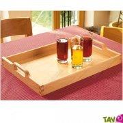 Plateau de cuisine en bois FSC grand format avec poign�es