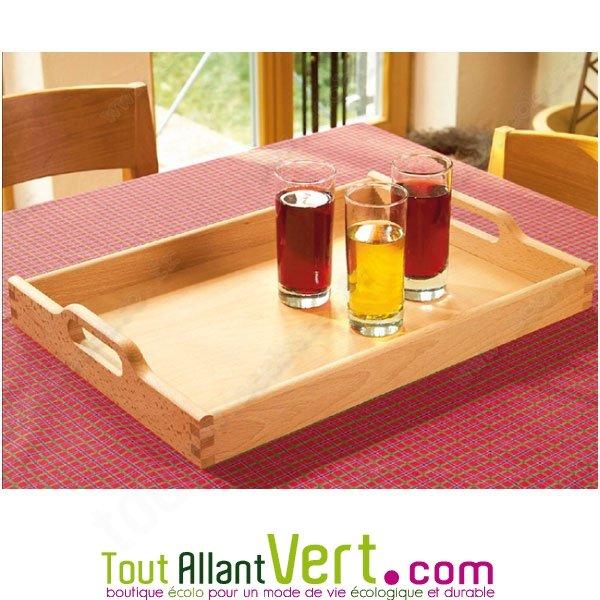 plateau de cuisine en bois fsc grand format avec poign es achat vente cologique acheter sur. Black Bedroom Furniture Sets. Home Design Ideas
