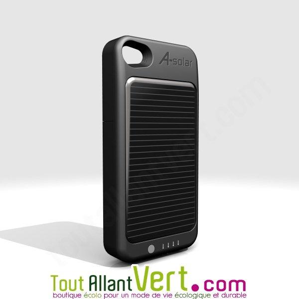chargeur solaire pour iphone 4 4s certifi apple achat vente cologique acheter sur. Black Bedroom Furniture Sets. Home Design Ideas