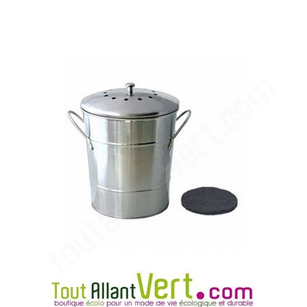 poubelle de table compost anti odeurs pour cuisine 5