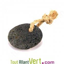 pierre ponce volcanique ronde avec ficelle achat vente cologique acheter sur. Black Bedroom Furniture Sets. Home Design Ideas