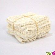 Lingettes essuie-tout lavables en coton bio