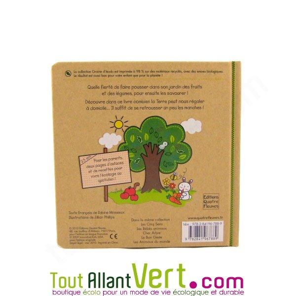 livre pour enfant au jardin potager et terre nourrici re. Black Bedroom Furniture Sets. Home Design Ideas