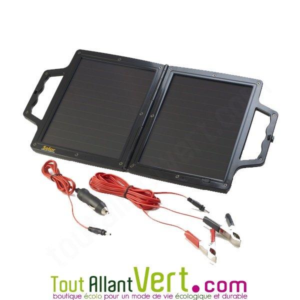 valise solaire pour maintien charge de la batterie de v hicule 4watt 12v solar tech achat vente. Black Bedroom Furniture Sets. Home Design Ideas