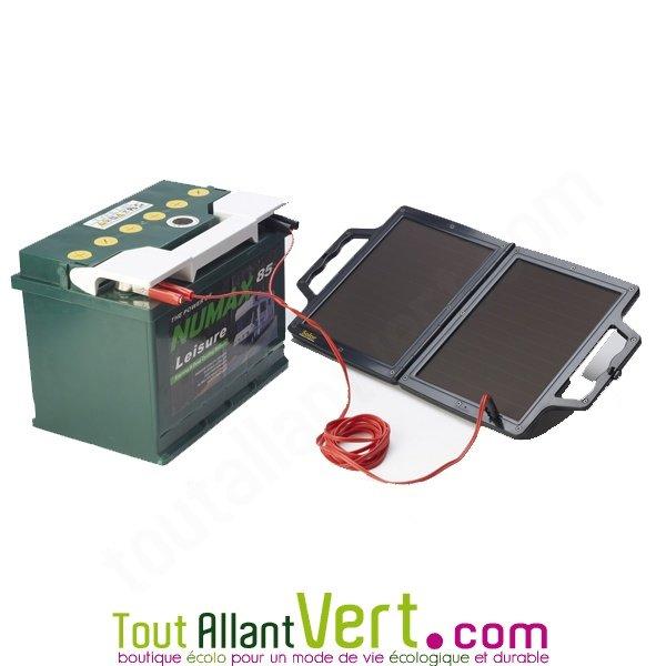 Valise solaire pour maintien charge de la batterie de v hicule 4watt 12v solar tech achat vente - Maintien de charge batterie ...