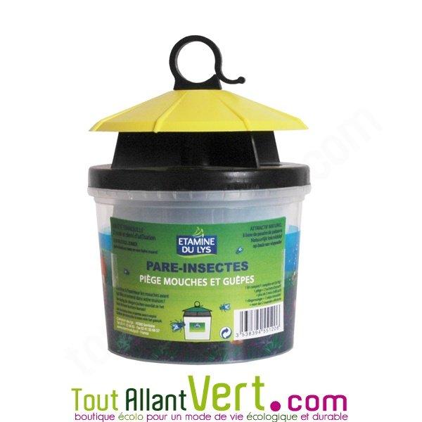 Etamine du lys pi ge mouches efficace et rechargeable - Piege a mouche maison ...