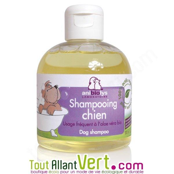 Shampooing bio chien anibiolys 300ml achat vente for Repulsif chien exterieur naturel