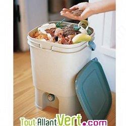 Bokashi poubelle composteur int rieur sans vers cuisine - Seau a compost pour cuisine ...