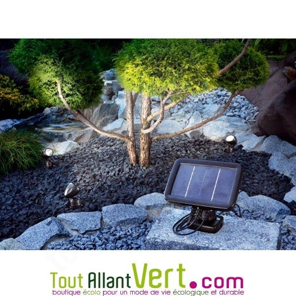 Kit de 3 mini spot solaires Trio achat vente écologique - Acheter ...