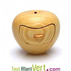 Boite bijoux forme pomme en bois de cerisier fabrication - Fabrication de boite a bijoux ...