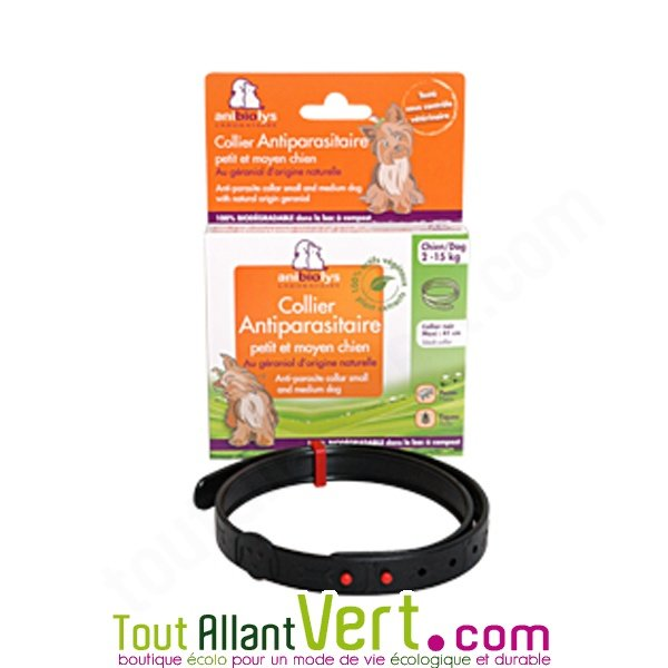 collier anti puces anti tiques naturel pour chien achat. Black Bedroom Furniture Sets. Home Design Ideas