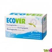 Tablettes de lessive �cologique Ecover, blanc et couleur, lot de 32