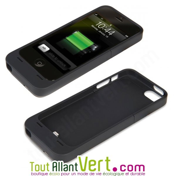 coque qui charge iphone 5