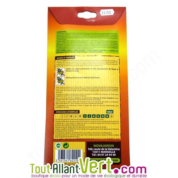 Solabiol 2 pi ges ph romone mouche de l olive - Insecticide mouche de l olive ...