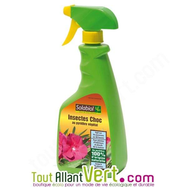 solabiol spray insectes choc pour plantes int rieures et terrasse. Black Bedroom Furniture Sets. Home Design Ideas