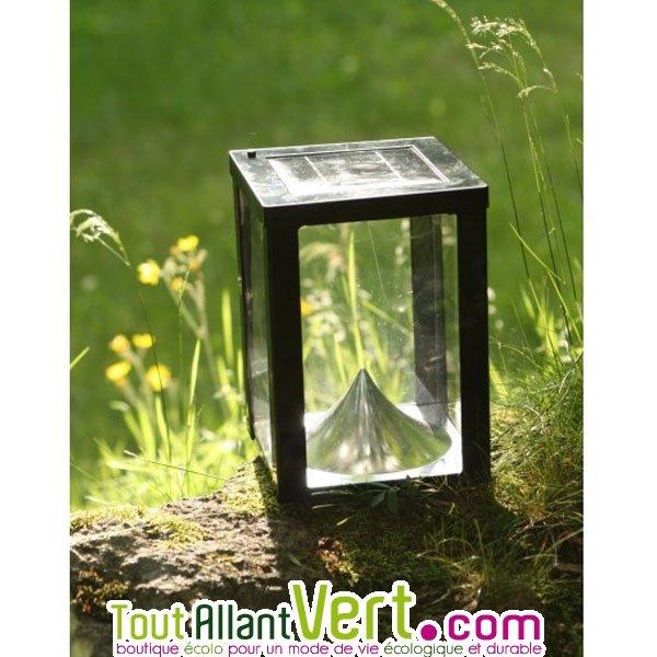 lampe solaire pour table ou terrasse photophore de toute beaut. Black Bedroom Furniture Sets. Home Design Ideas