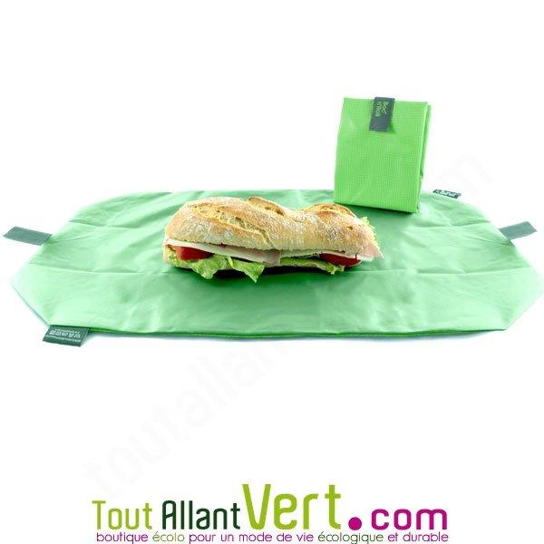 Sac ajustable et set de table pour sandwich ou gouter - Acheter set de table ...