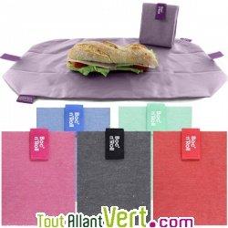 emballage sandwich et set de table r utilisable et lavable textile 54 x 32cm achat vente. Black Bedroom Furniture Sets. Home Design Ideas
