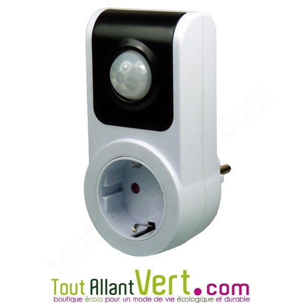 Prise allume appareil sur d tection de pr sence achat vente cologique acheter sur - Prise detecteur de presence ...